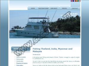 Nuovo Charter di Pesca d'Altura in Tailandia