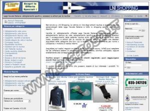 Vendita accessori e abbigliamento nautica