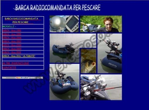 Barca Radiocomandata x pescare