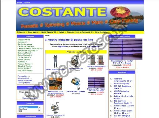 Costante Pesca Sport