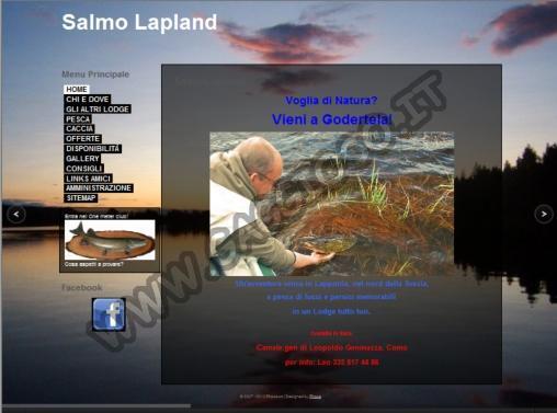 Pesca al luccio in Lapponia Svedese