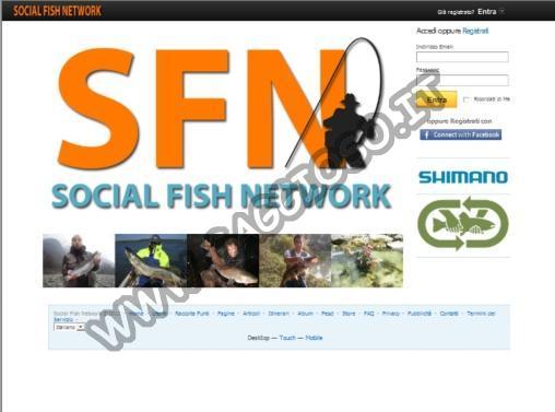Social Network sulla pesca