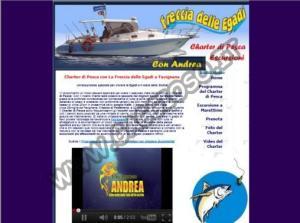 Charter di Pesca con La Freccia delle Egadi a Favignana