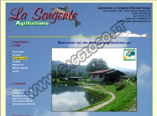 Pesca Sportiva - Agriturismo la Sorgente