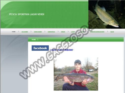 Pesca Sportiva - Laghi Verdi