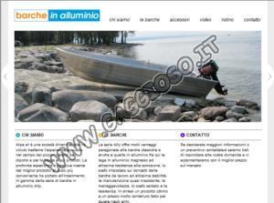 Barche da pesca in alluminio