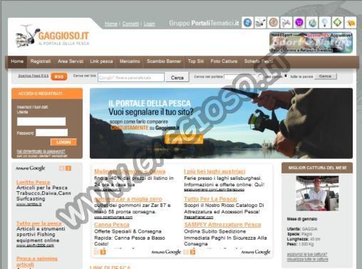 Aggiungi un sito in Gaggioso