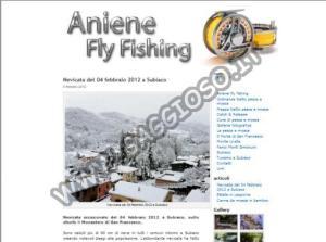 Aniene fly fishing