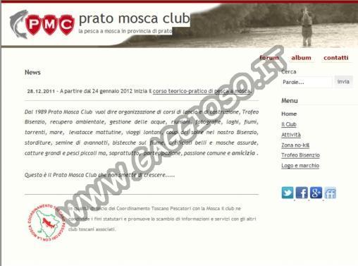 Prato Mosca Club - Associazione di pescatori con la mosca