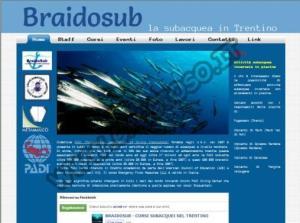Corsi subacquei PADI nel Trentino